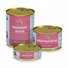 Wet Food - Complete Menu with fish