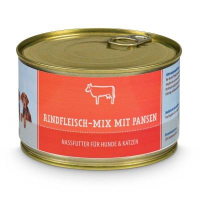 Rindfleisch-Mix mit Pansen - BAF to GO - Frostfutter Vertrieb
