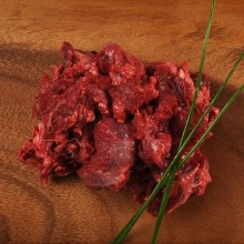Natural beef neck meat