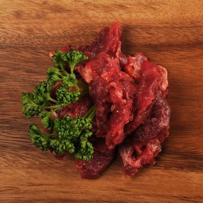 Rindermuskelfleisch (fein gewolft) - eBARF® Premium - Frostfutter Vertrieb