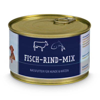 Fish-Beef-Mix (minced) - BAF to GO - Frostfutter Vertrieb