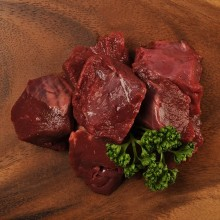 Delicious beef heart