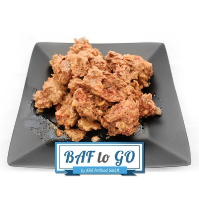 Horse Menu (minced and cooked) - BAF to GO - Frostfutter Vertrieb