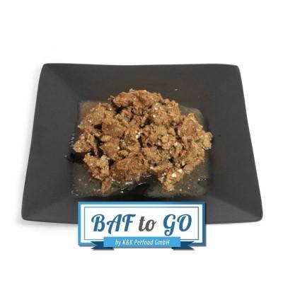 Beef Heart (minced) - BAF to GO - Frostfutter Vertrieb