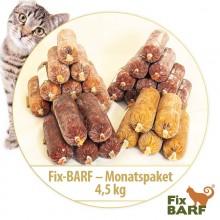 4,5 kg - Fix-BARF - Monatspaket (Mix 1)