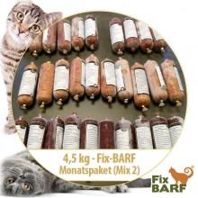 4,5 kg – Fix-BARF - Maand pakket
