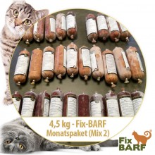 4,5 kg - Fix-BARF® Monatspaket (Mix 2)